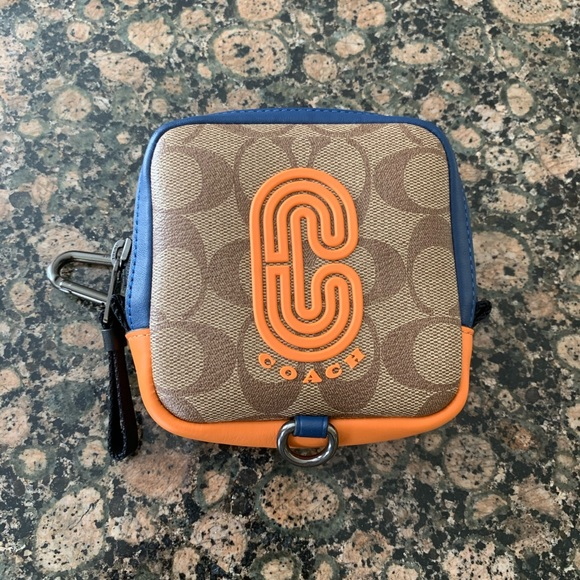 Coach Handbags - Coach Signature Square Hybrid Pouch  In Colorblock